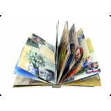 Диджибук для 10 дисков, формата А4, с кашированными страницами