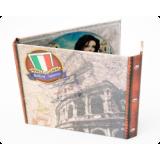 Хардбек CD формата для 2х дисков с клапаном на магните