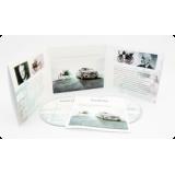 Дигислив CD формата для 2х дисков и буклета