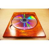 Деревянная упаковка-трей для 1 диска
