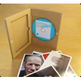 Гофропак DVD для 1 диска с ложементом под буклет