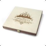 Деревянная шкатулка с резьбой для 1 DVD диска