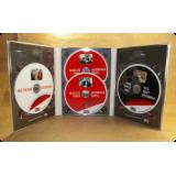 Диджипак DVD 6 полос для 4х дисков