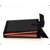 Хардбек CD формата для 4 дисков с завязками из атласных лент